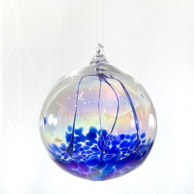 Handmade Glass Witches Ball