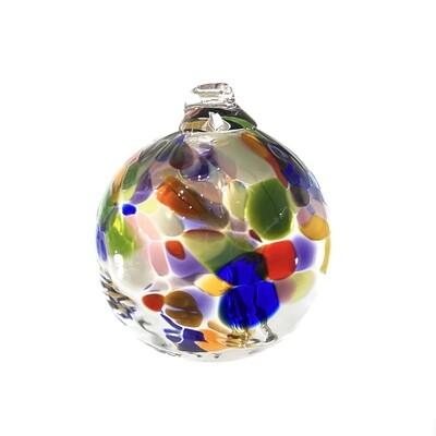 "Handmade Glass Art 2"" Globe Ornament - Tree of Adventure"