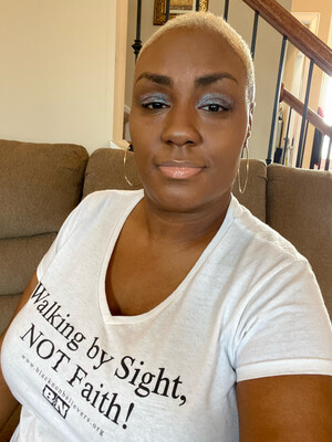 BN Slogan Women's V-Neck T-shirt - White