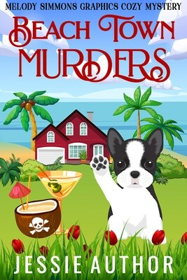 Beach Town Murders - Click to view SET of 3