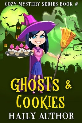 Ghosts Witch - Click to view SET of 3