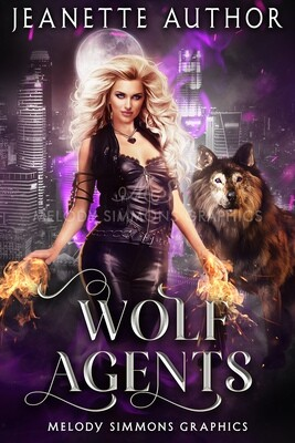 Wolf Agents - Set of 3 Covers