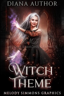 Witch Theme - Set of 3 Covers