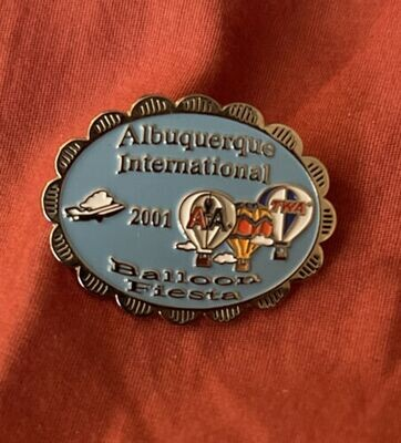 AIBF 2001 pin American Air/TWA