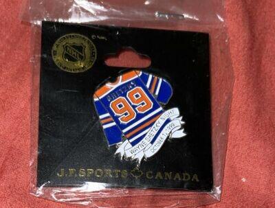 wayne Gretzky lapel pin JP sports Canada