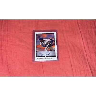 Dwight Gooden autographed mets card