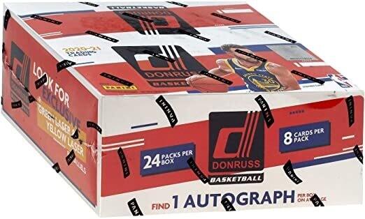 2020-21 Donruss Basketball Retail Box