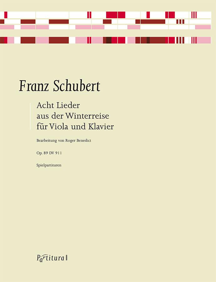 Schubert, arr Benedict: Eight Songs from Winterreise