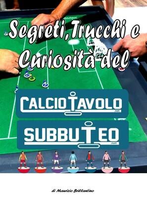 Manuale del Calciotavolo Subbuteo