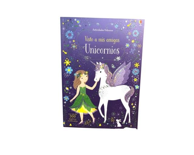 Libros Usborne. Visto a mis amigos Unicornios.