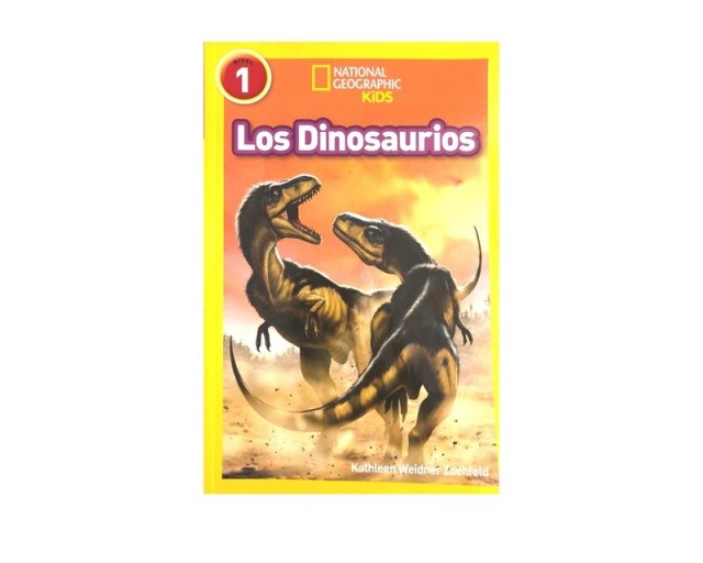 National Geographic Kids.  Los dinosaurios.