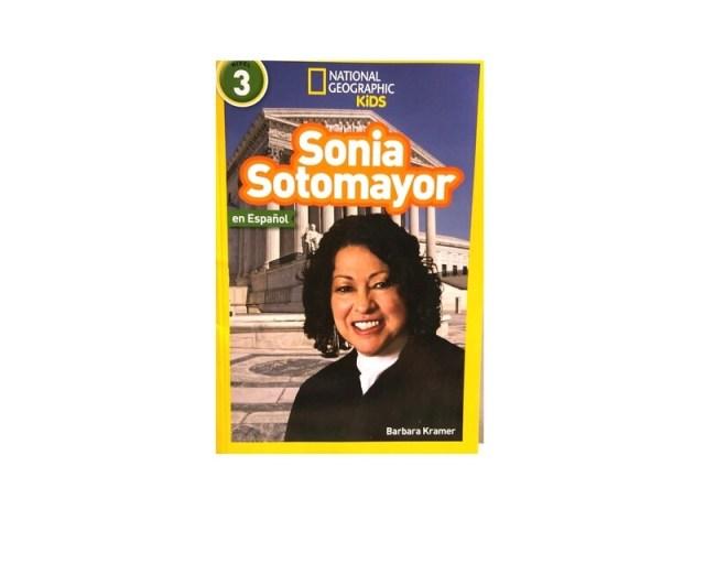National Geographic Kids.  Sonia Sotomayor.