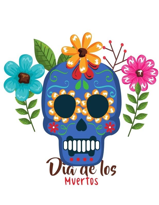 """SCHOOL PACK """"Día de Los Muertos"""" Cultural Box. Order today!"""