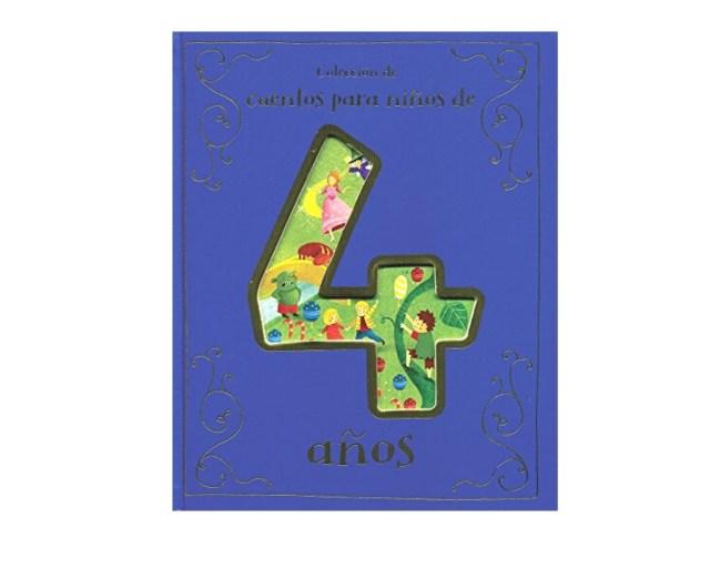 Colección de cuentos para niños de 4 años.