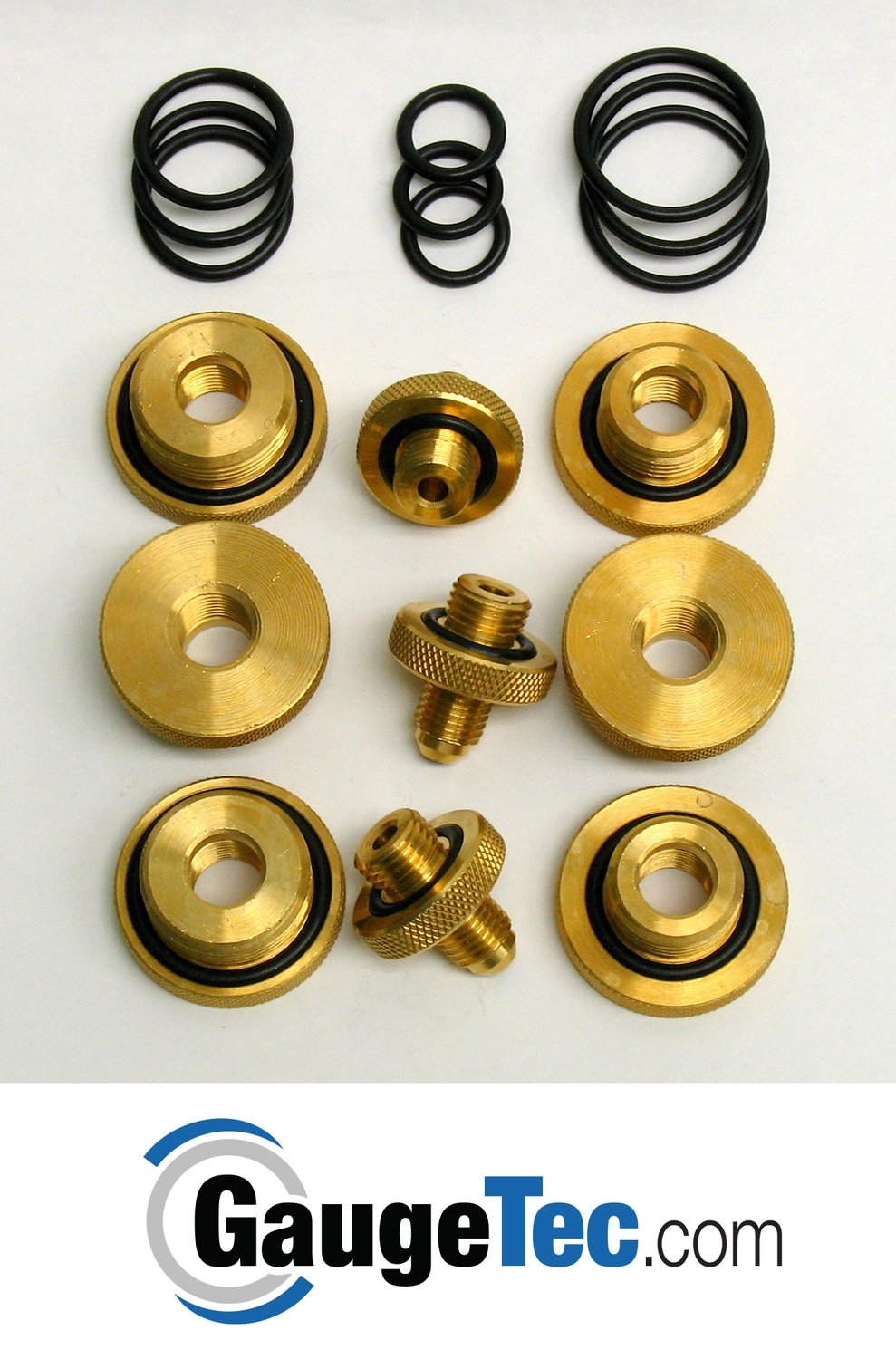 Quick Connect Test Cock Adapter Kit (Complete set of each of above 9 fittings)