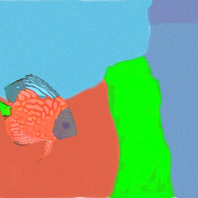 Fish Popart