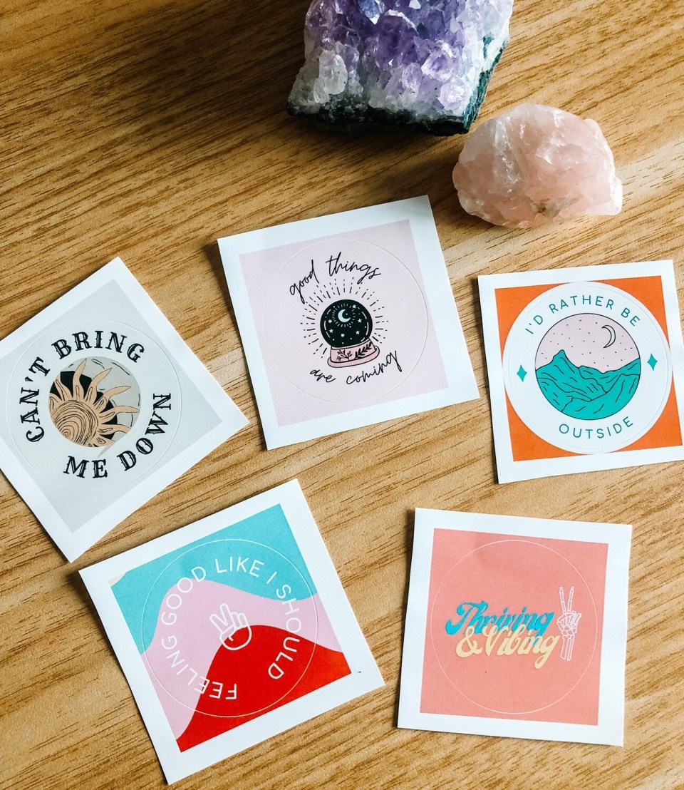 Good Vibes Sticker Pack