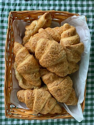 Croissant. Chalk Hills Bakery.