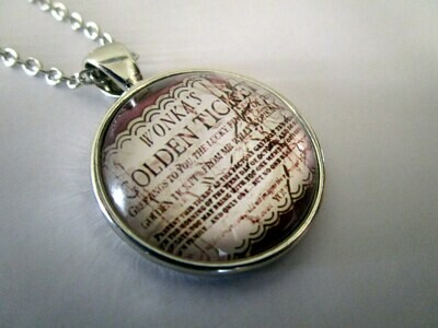 Golden Ticket Necklace