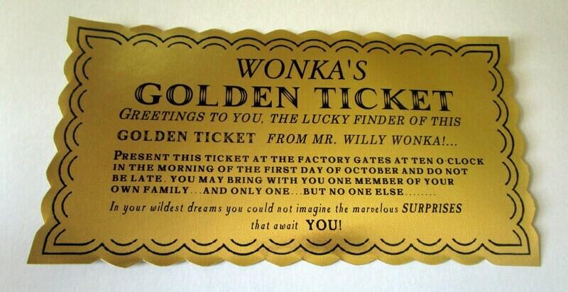 Classic Golden Ticket
