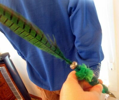 Automatic Writing Green Quill for the Witch or Wizard