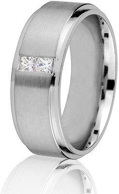 Jonc de mariage à diamants