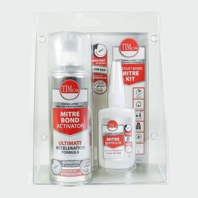 Instant Bond Mitre Kit 200ml / 50g