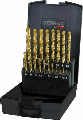 Ruko Terrax 19 Piece HSS-G Twist Drill Set Split Point