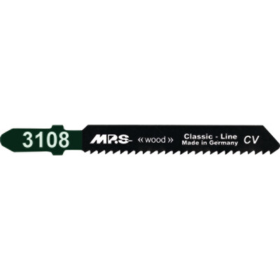 75mm x 12tpi MPS 3108 Jigsaw Blade CV T119B Pack of 5