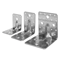 Eurotec Angle Bracket 90mm x 90mm x 65mm Part 904726  Pack of 1