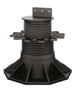 Eurotec Adjustable Decking Pedestal Feet - Eco L Adjusts from 65mm up to 130mm