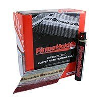 3.1 x 63mm (Firma Galv Plus) Firmahold Gas Fired 1st Fix Nails 1 box 3300 Nails & 3 Gases