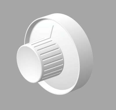 Dash Knob Set - Sombrero, 3 pcs