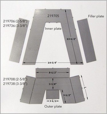 Step Notch Kit Pieces