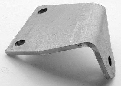 Pedal Frame Mount Plate, Top