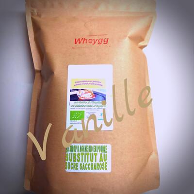 Wheygg bio : Vanille (nouvelle formule - IG BAS)