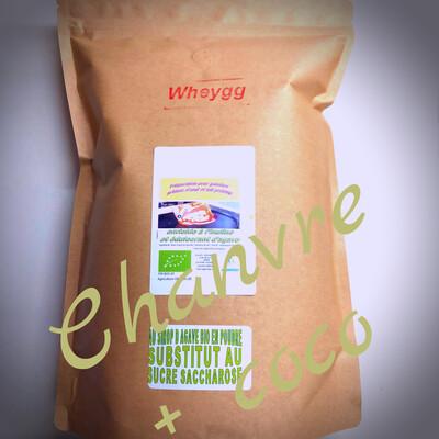 Wheygg chanvre et sucre de coco: 1 Kg NOUVEAU