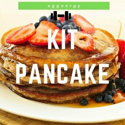 Kit pancake bio (wheyggainer+farine+shaker) 2 kg