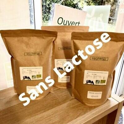 Protéine Lait Native Bio SANS LACTOSE: 3 kg  (origine du lait: France)