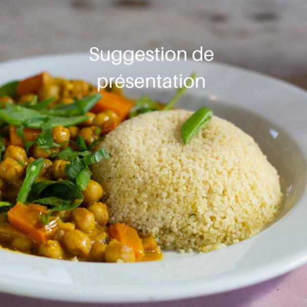 Couscous de blé biologique 1 Kg