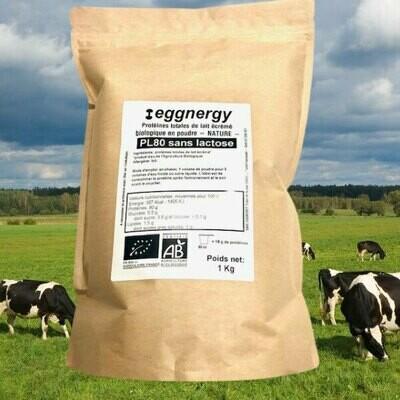 Protéine Lait Native bio sans lactose 1 Kg