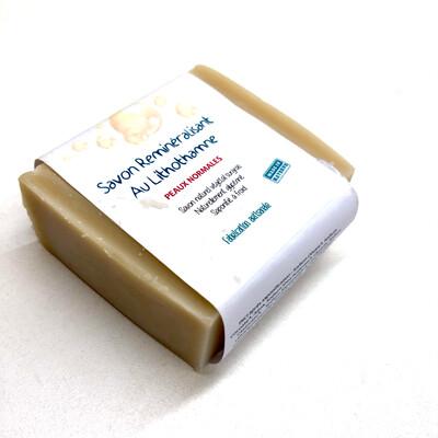 Savon reminéralisant au lithothame (peaux normales)
