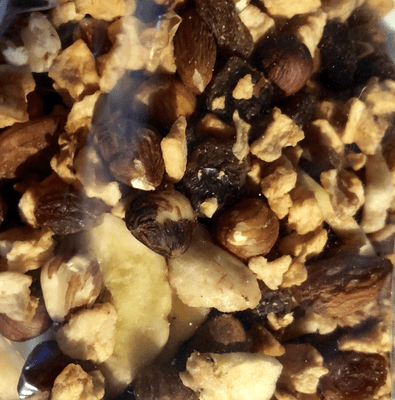 Mélange fruits secs avec amandes et noisettes en 200 g