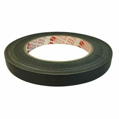 Book Binding Cloth Tape, Black (Stylus)