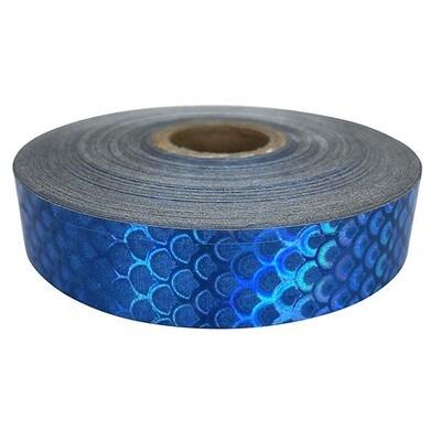 Economy Blue Ocean Mermaid Scales Tape