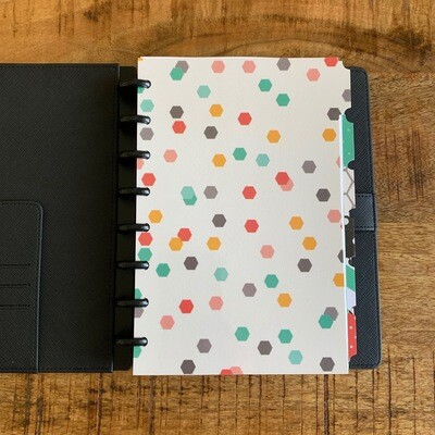 2020 Planner - Black Leather Cover (Personal Size)