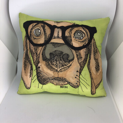 Ain't Nothin' But A Hound Dog Accent Pillow