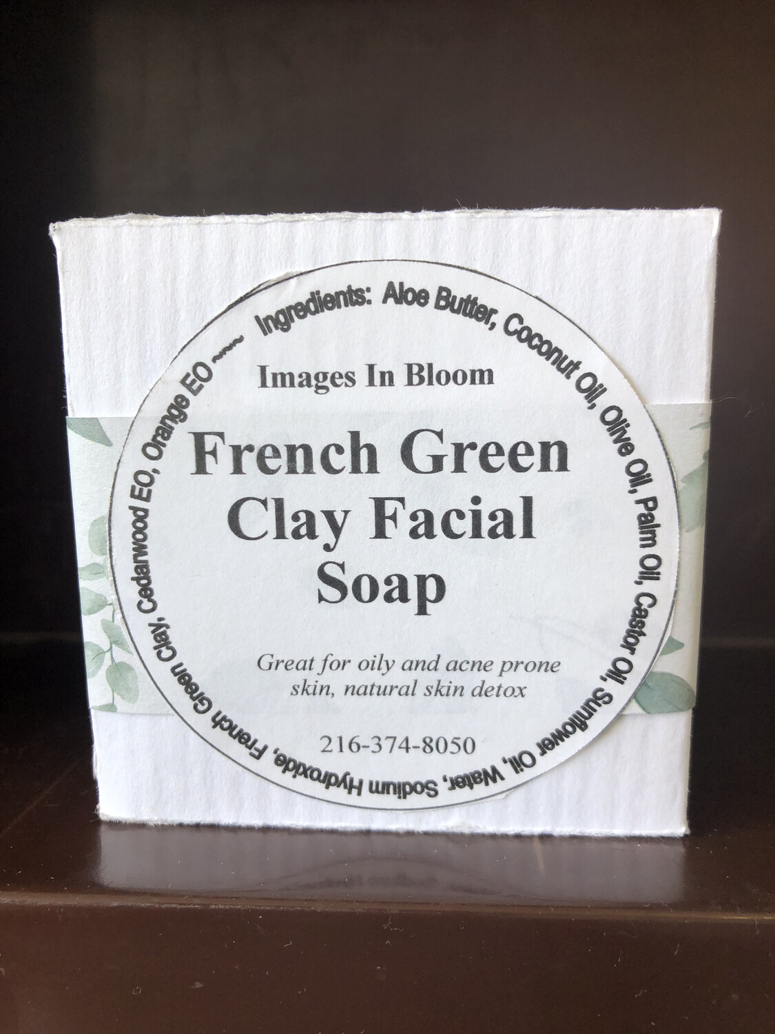 French Green Clay Facial Bar