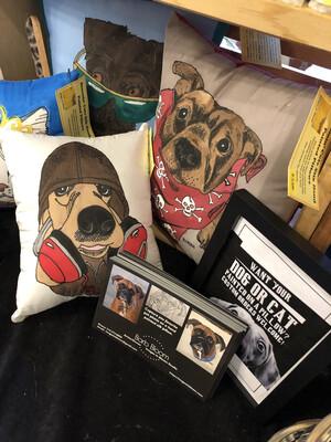 Gift Certificate- Large custom pet portrait