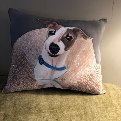 Pet Portrait Of Bruno For Katie